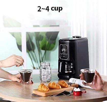 LQRYJDZ Totalmente automática máquina de moler café cafetera con 2 ...