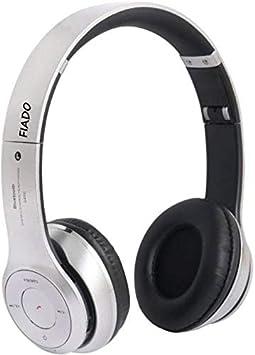 Fiado s460 High Bass Wireless Headphone  Silver  On Ear Headphones