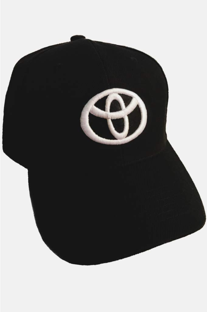 69c8ea1faaa Amazon.com  A Toyota Baseball Cap Hat Black. 3D Emblem. Adjustable. New!   Sports   Outdoors