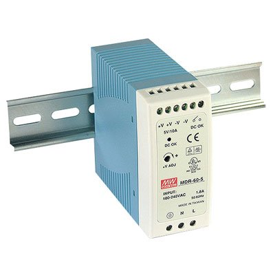 DIN Rail Power Supplies 60W 12V 5A