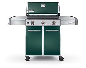 Weber Genesis 6517001 E-310 637-Square-Inch 38,000-BTU Liquid-Propane Gas Grill, Green
