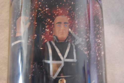 Vir Series - GARIBALDI Limited Edition 1997 Collector's Series * 9 Inch * BABYLON 5 Action Figure and Display Stand