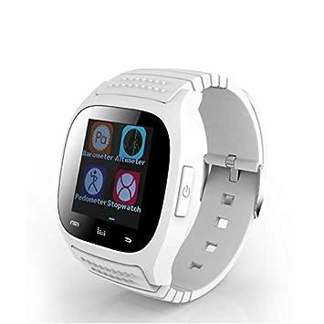 Bluetooth Móviles Reloj Extensión Smartwatches Relojes Deportivo, Actividad Tracker /Control de Música/ Mensaje