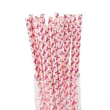 Paper Straws Biodegradable Disposable Decorative