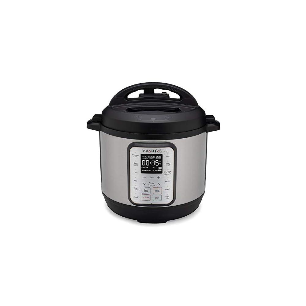 Instant Pot Duo Plus 6 Quart 9-in-1 Electric Pressure Cooker, Slow Cooker, Rice Cooker, Steamer, Sauté, Yogurt Maker…