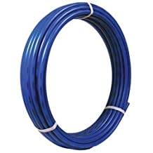 SharkBite 1-Inch PEX Tubing, 100 Feet, BLUE, for Residential and Commercial Potable Water Applications