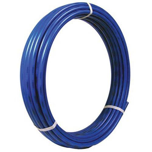 SharkBite PEX Pipe Tubing 1 Inch, Blue, Flexible Water Tube, Potable Water, Push-to-Connect Plumbing Fittings, U880B100, 100 Foot (Blue Pex Tube)