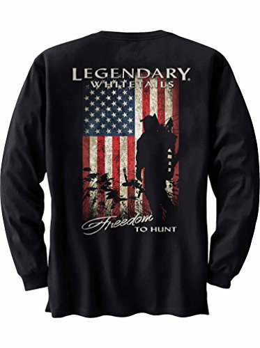 Legendary Whitetails Men's Freedom to Hunt Long Sleeve Tee B