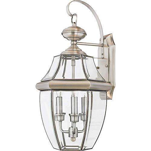 Newbury Traditional 1 Light - Cythia NY8316Z Newbury 1-Light Outdoor Lantern, Medici Bronze