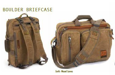 - FishPond Boulder Briefcase - Earth