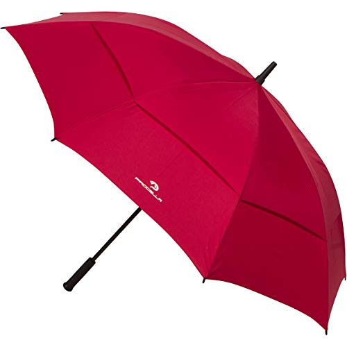 Procella Golf Umbrella Windproof and Rain Proof - 62 Inch Large - Automatic Open Golfing Umbrellas with Sun Protection - Great Golf Accessories for Men and Women (Best Golf Umbrella For Sun Protection)