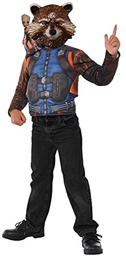 Imagine by Rubie's Guardians of The Galaxy Volume 2 Child's Rocket Raccoon Boxed Dress-Up Set Costume