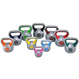 Goplus Kettlebell Weights Barbell for Full Body Workout Fitness Weight Loss Strength Training Cross Training MMA Training Home Exercise