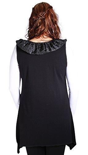 Maxana - Camiseta sin mangas - para mujer negro