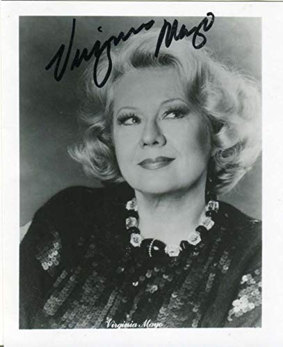 ACADEMY AWARD Virginia Mayo (+) autograph, signed photo
