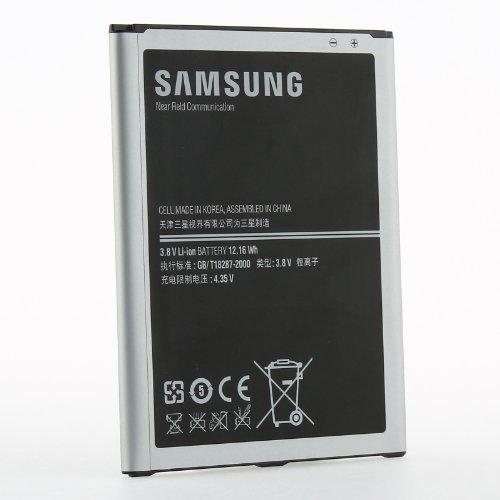 Original OEM 3200mAH Samsung Standard Battery Cell for Samsung Galaxy Mega 6.3 i9200 - Non-Retail Packaging - Silver (Mega Samsung Galaxy Note 2)