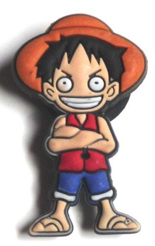 Monkey D Luffy in One Piece Manga Jibbitz Crocs