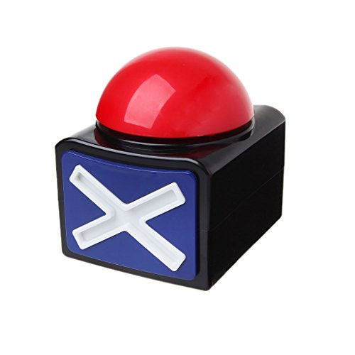 - Forgun Game Answer Buzzer Alarm Button with Sound Light Trivia Quiz Got Talent Buzzer