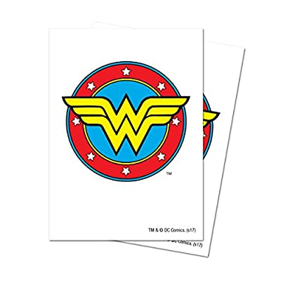 D.C. Comics Justice League Wonder Woman Deck Protector Sleeves (65 ct.): Toys & Games