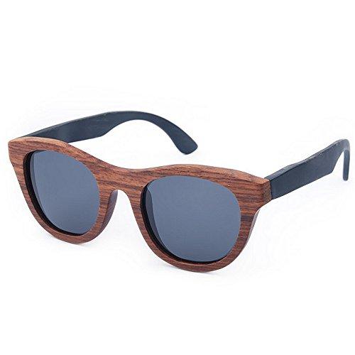 los clase sol para conduce de ULTRAVIOLETA de vendimia sol ligero de Gafas hombres de Ojos a alta Protección hombre mano polarizadas madera hechas Gafas la de gato Bea sol que de Ultra de gafas las de FwOqAgq