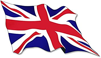 THE BLACK COUNTRY Union Jack Vinyl Graphic Decal Car Bumper Sticker