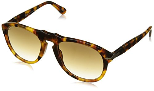 Persol PO0649 Sunglasses 105251-52 - Madreterra Frame, Clear Gradient - 135 Persol Sunglasses
