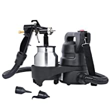 "Electric HVLP Air Spray Gun with a 64"" Flexible Air Hose"