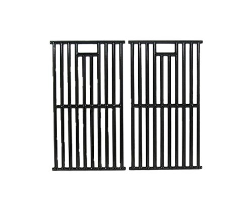 Music City Metals 67252 Gloss Cast Iron Cooking Grid Replacement for Gas Grill Model Kenmore 148.16656010, Set of 2 by Music City Metals