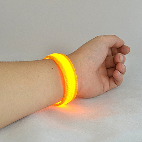 Dance Armband - Laz-Tipa - LED Flashing Wrist Band Bracelet Arm Band Belt Light Up Dance holiday Party Glow For Party Decoration Gift P0.2