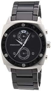 Dyrberg/Kern DIVA BMC - Reloj analógico de mujer de cuarzo con correa de acero inoxidable negra - sumergible a 30 metros