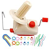 BUTUZE Yarn Ball Winder with 25 Pieces Stitch
