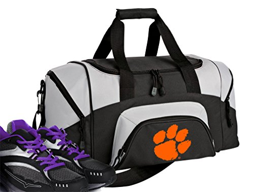 Broad Bay SMALL Clemson Tigers Duffel Bag Clemson University Gym Bags or Suitcase by Broad Bay (Image #1)