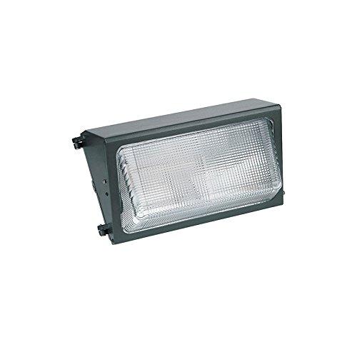 Super Bright LED Wall Pack Light   18''L x 9''W x 10''H   135W, 16400 Lumens, 120-277 Volt, 5000K   Die-Cast Aluminum   Replaces A 400 Watt Metal Halide   UL Listed For Wet Locations