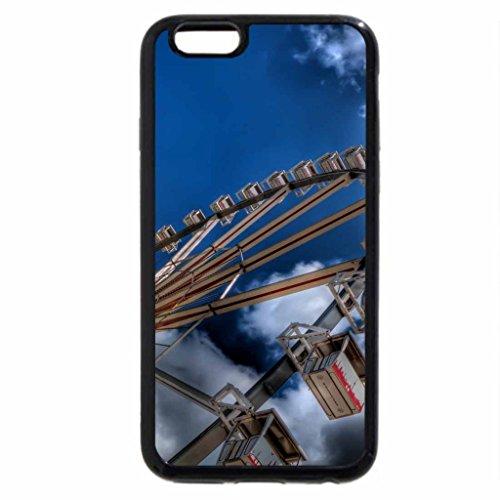 iPhone 6S / iPhone 6 Case (Black) big wheel under big sky hdr