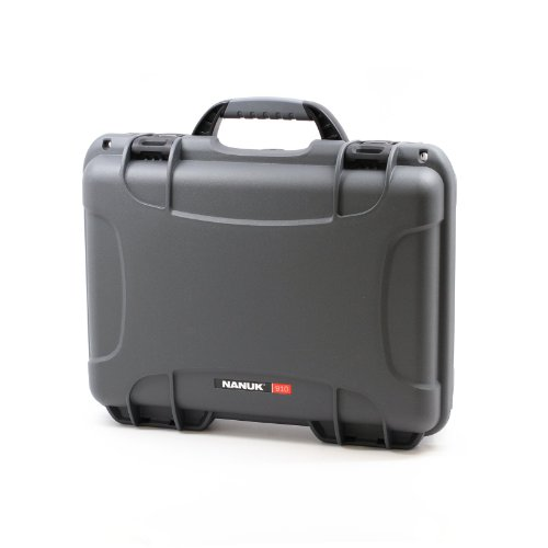 Nanuk 910 Professional Gun Case, Military Approved, Waterpro