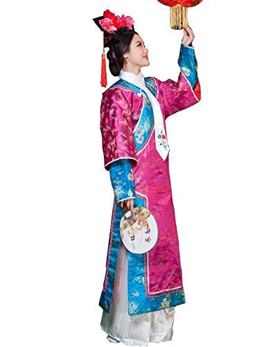 Qing Dynasty Costumes - ZENGAI Ancient Costume Female Qing Dynasty