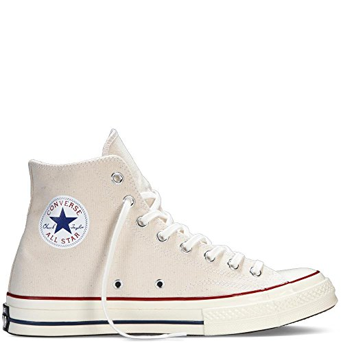 Converse Men's All Star '70s High Top Sneakers, Parchment, 10.5 D(M) (Shoes From The 70s)