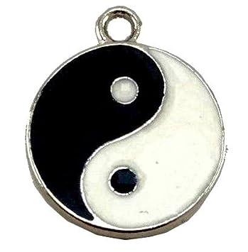 Buy yin yang locket feng shui yin yang pendant for good luck and yin yang locket feng shui yin yang pendant for good luck and prosperit unisex aloadofball Choice Image