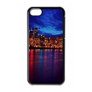 Iphone 5C Case, city night lights 2 Case for Iphone 5C Black