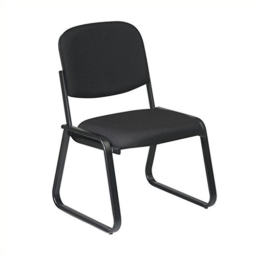 (Office Star V4420-227 Deluxe Sled Base Chair Guest)