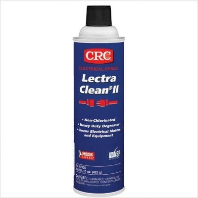Lectra Clean II Non-Chlorinated Heavy Duty Degreasers Style: Container Size:20 oz, Pkg Aerosol Can (02120) by CRC