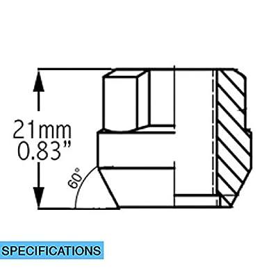 Wheel Lock - OE Acorn M14 1.5 w/Long Key: Automotive
