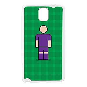 Fiorentina White Silicon Rubber Case for Galaxy Note 3 by Blunt Football European + FREE Crystal Clear Screen Protector