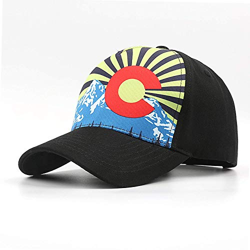 (Baseball Hats for Men Women, Adjustable Hats Caps for Colorado State - Gift for Men &)