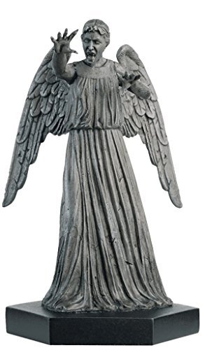 Doctor Who Figurine Collection - Figure #4 - Weeping Angel - Hand Painted 1:21 Scale Model - Collector Boxed by Eaglemoss / Doctor Who (Doctor Who Figurine Collection)