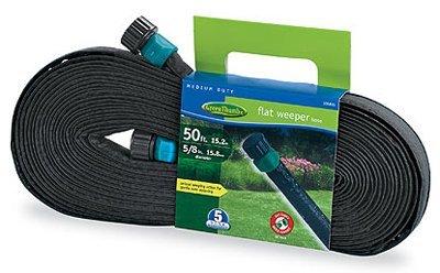 Bosch Garden & Watering 27050GT Flat Weeper & Soaker Hose, 50-Ft. - Quantity 12
