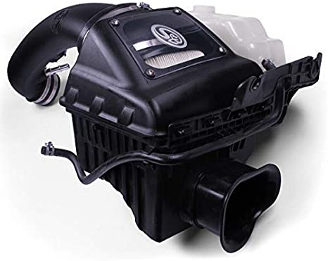 S/&B Filters 75-5076 Cold Air Intake For 2011-2014 Ford F-150 5.0L Oiled Cleanable, 8-ply Cotton Filter