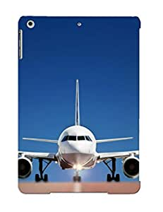 Exultantor Rugged Skin Case Cover For Ipad Air- Eco-friendly Packaging(commercial Aircraft )