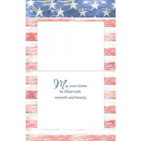 LANG - ''Patriotic Skates'', Boxed Christmas Cards, Artwork by Susan Winget'' - 18 Cards, 19 envelopes - 5.375'' x 6.875''