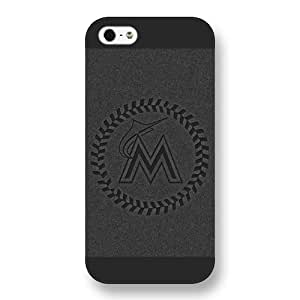 iPhone 6 4.7 Case, fashion caseMLB Miami Marlins iPhone 6 4.7 Case [Black Frosted Hardshell]